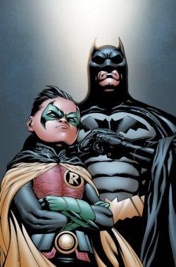 Batman_Dick_Grayson_and_Robin_Damian_Wayne-3